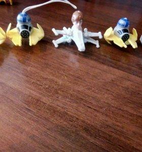 Игрушки из киндр сюрприза
