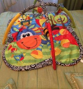 Развивающий коврик Playgro + подарок