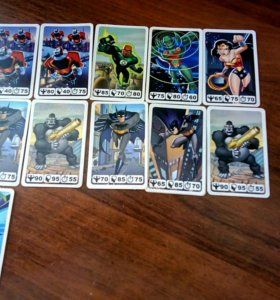 Карточки justice league