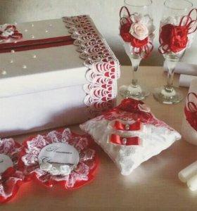 Новые свадебные аксессуары ручной работы