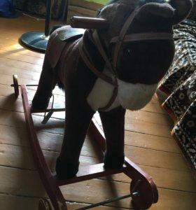 Лошадка качалка БУ