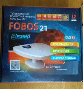 ТВ антенна Рэмо Fobos 2.1 комнатная.