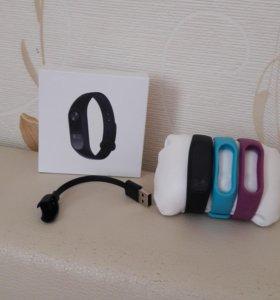 Часы Xiaomi Mi Band 2+ 2 браслета