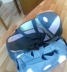 Сумка переноска и сумка мамы