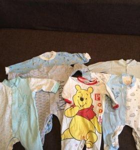 Одежда для новорождённых 11 предметов