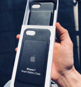 Smart battery case iphone 7/8 новый