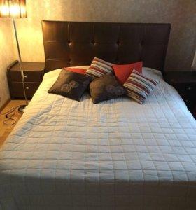 Двухспальная кровать бу