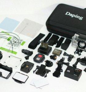 Новая Экшн-Камера WiFi Daping 4K. Premium качество