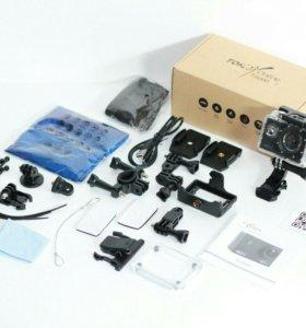Новая.Экшн-Камера TopJoy TJ5000 4K Ultra HD Wi-Fi