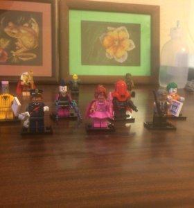 Минифигурки LEGO Batman