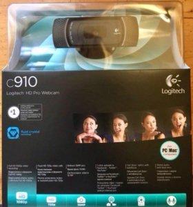 Веб-Камера Logitech C910 HD Pro