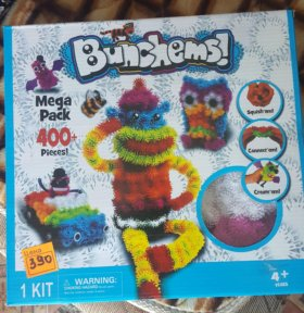 Конструктор Bunchems Mega Pack