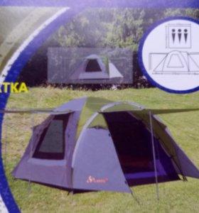 Палатка туристическая 3 местная LANYU LY-1707