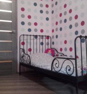 Кровать раздвижная + матрас