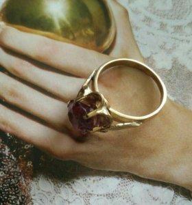 Кольцо серебро александрит