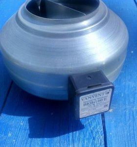 Вентилятор канальный ВКВ-160Е новый