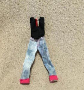 Кофта и джинсы для куклы