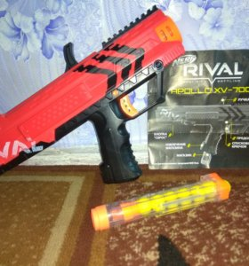 Автомат Nerf RIVAL APOLLO ( с патронами)