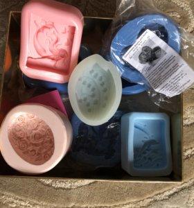 Большой набор форм для мыловарения