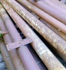 Трубы стальные бесшовные разного диаметра б/у