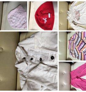 Пакет вещей на девочку размер 116-134