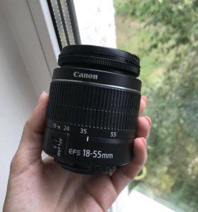Canon объектив Kit 18-55 IS