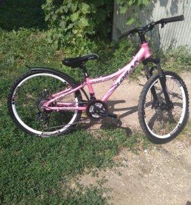 Велосипед подростковый Lorak magic 24