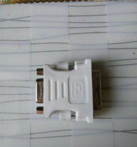 Переходник DVI на VGA