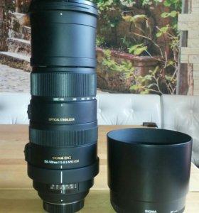 Продаю объектив nikon Sigma AF 150-500mm