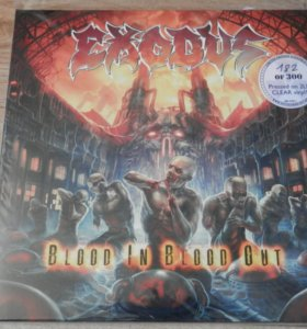 2 LP Exodus Blood In Blood Out 300 шт. № 182 трэш
