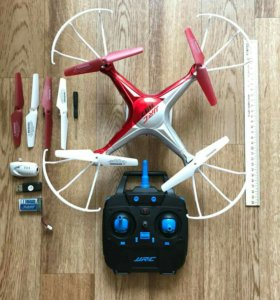 Дрон квадрокоптер с камерой