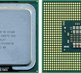Процессор Intel Core 2 Duo E4500 LGA775