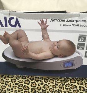 Электронные весы для новорождённых с памятью