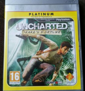 PS3 игра Uncharted