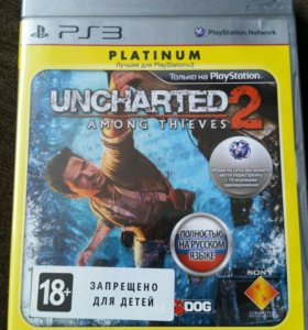 PS3 игра Uncharted 2