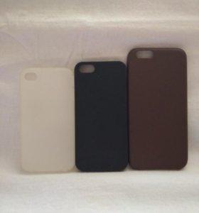 Чехол и стекло на iPhone