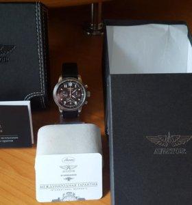 Часы Авиатор хронограф
