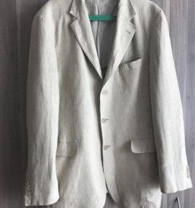 Мужской льняной пиджак Montego