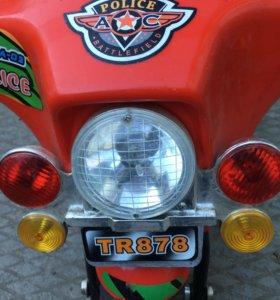 Электромотоцикл трёхколёсные для ребёнка