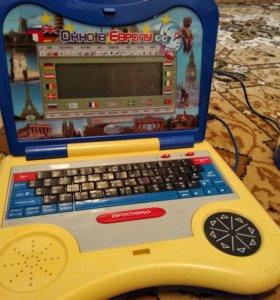 Рабочий детский обучающий ноутбук