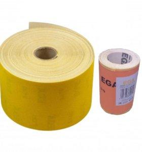 Наждачная бумага (шкурка) в рулонах по 50 метров