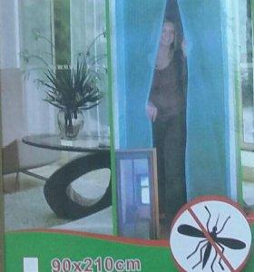 Дверная антимоскитная сетка на магнитах