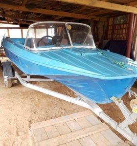 Лодка казанка с мотором Yamaha 40VEOS