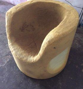 Поролоновое кресло