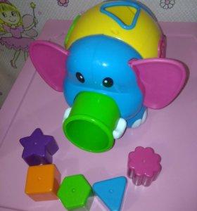 Сортер слоник в отличном состоянии
