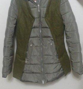 Куртки теплые,ветровки, куртки из эко кожи и др
