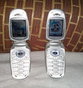 Samsung SGH-X460 2 штуки