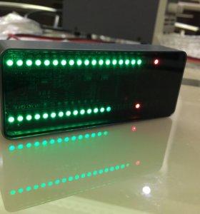 Индикатор аудиосигнала led rgb в корпусе