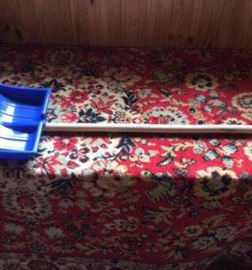 Лопата для снега детская