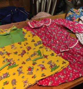 Платье фланелевые и трикотажные